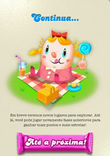 te amo, porra: zerei o candy crush