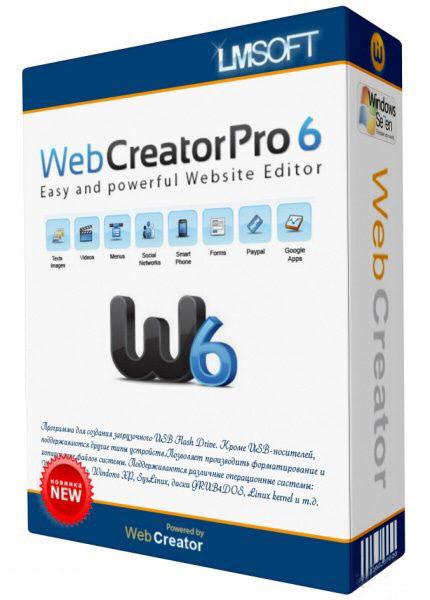 Web Creator Pro 6 Crack Torrent Download