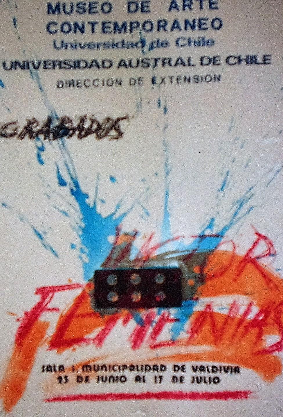 Afiche. Exposicion Individual.