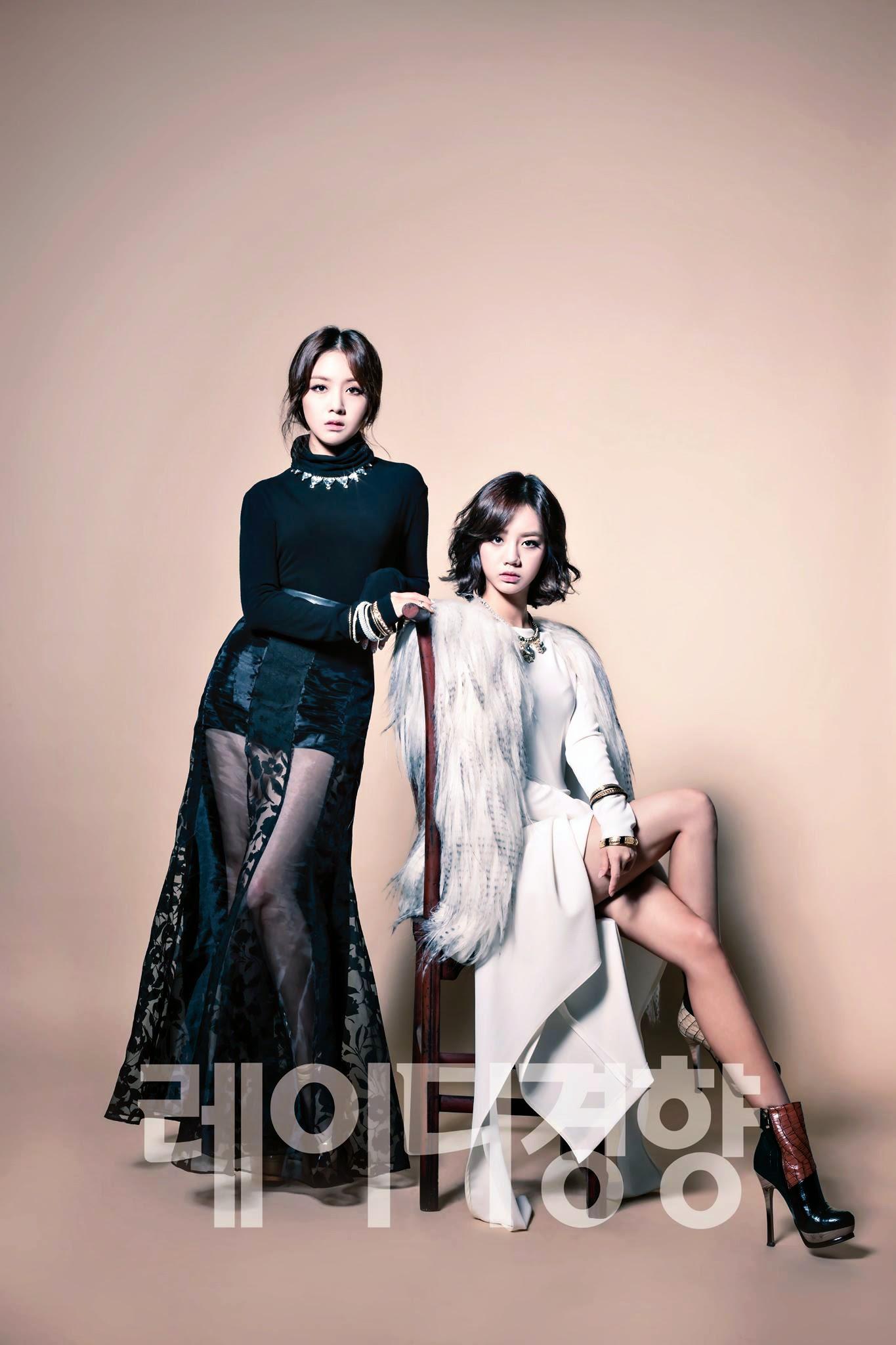 Hyeri Minah Lady Kyunghyang