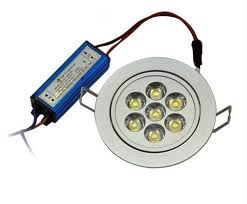 Focos led empotrables con transformador