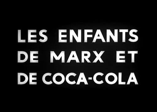Godard, Masculin Feminin Children of Marx and Coca-Cola