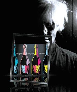 Andy Warhol en blanco y negro