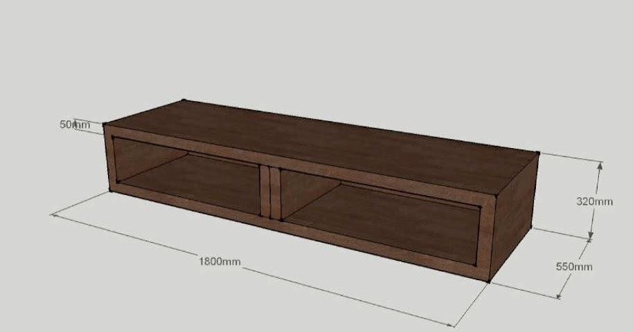 Sketchup mueble tv geekily - Como hacer un mueble para tv ...