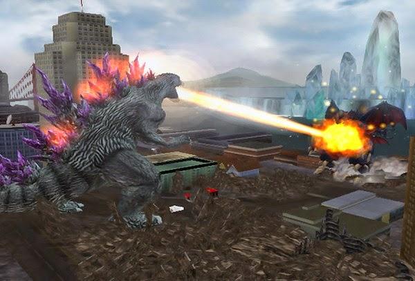 Godzilla: Unleashed PS2 Gameplay