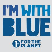 Proud to support 1% FOR THE PLANET