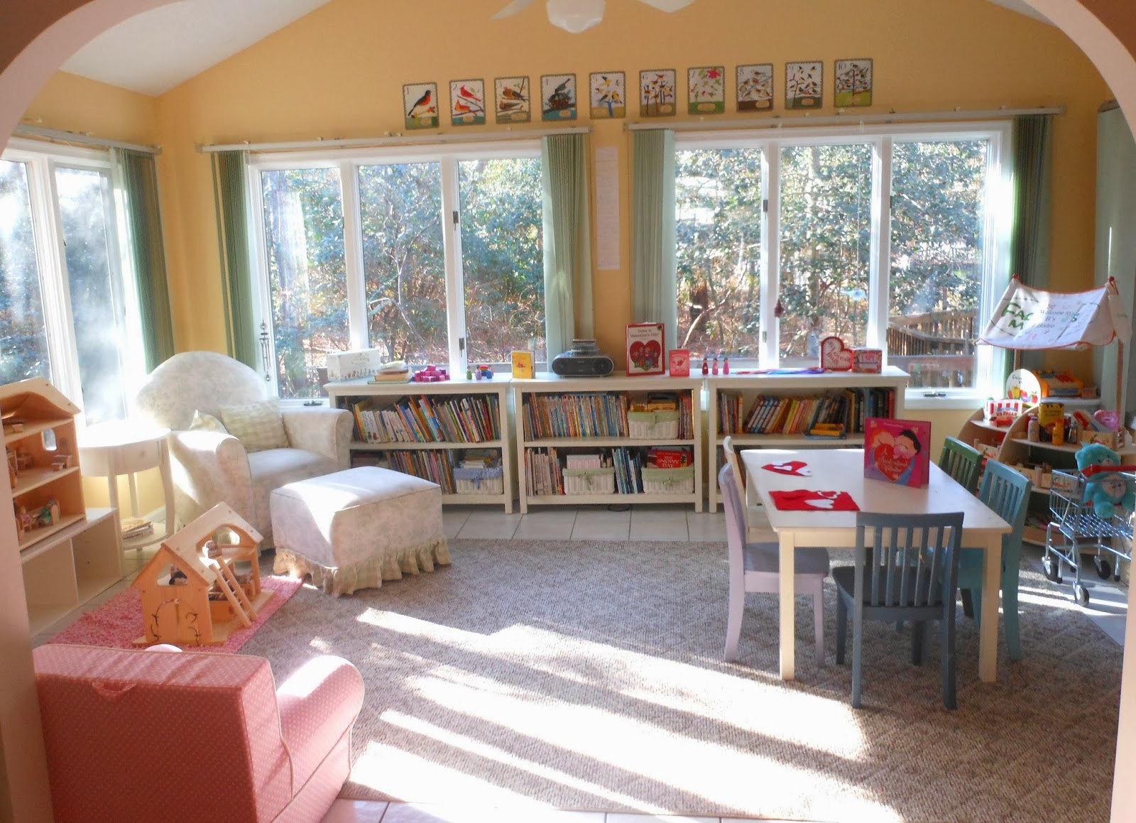 10 inspiring toddler reading spaces for Living room 10 play