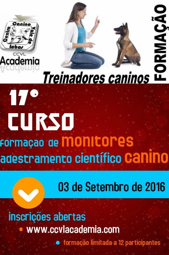17º Curso de Formação de Monitores de Adestramento Científico Canino