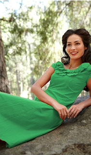 Women's Green Dress - Mariposa Grove 2