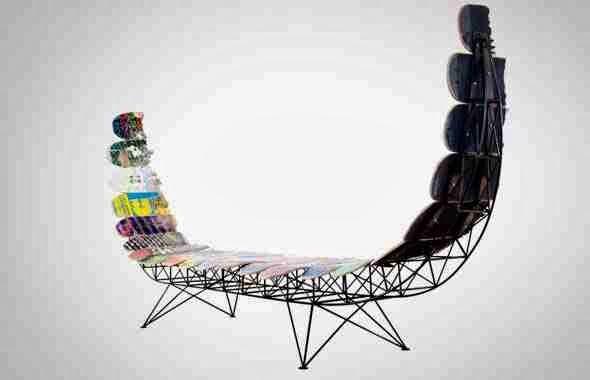 Recykling jest sztuką nowe życie deskorolek projektu Janie Belcourt