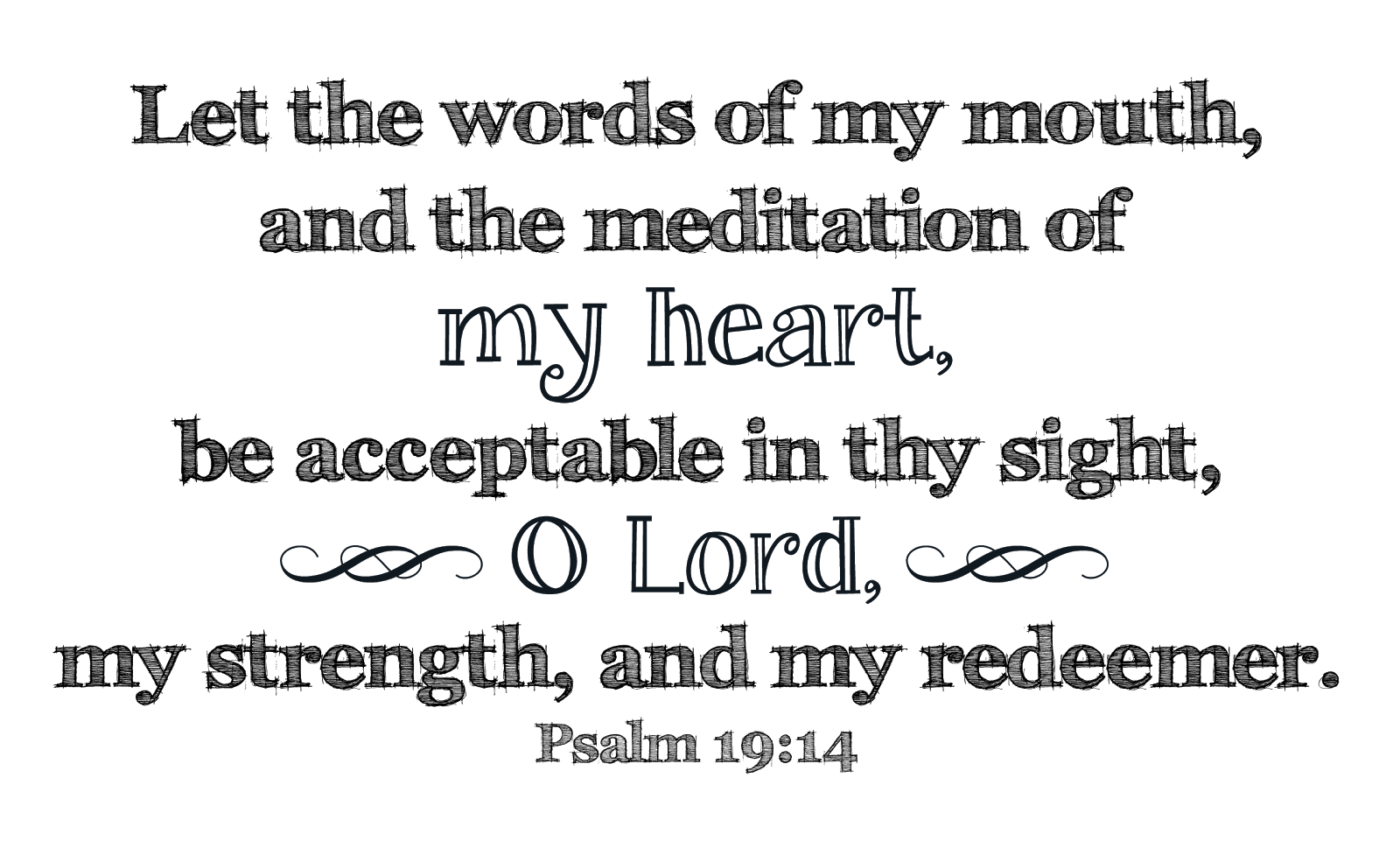 Astounding image for free printable scripture word art