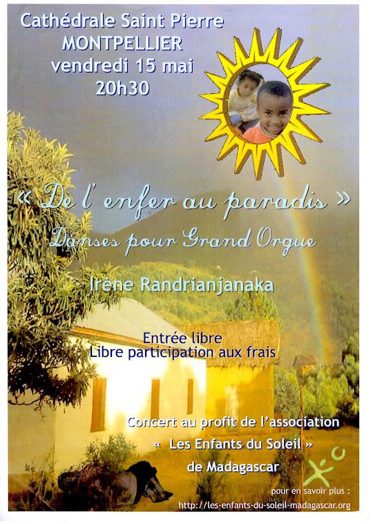 Concert du CDMS34, Cathédrale de Montpellier, 15 mai 2009
