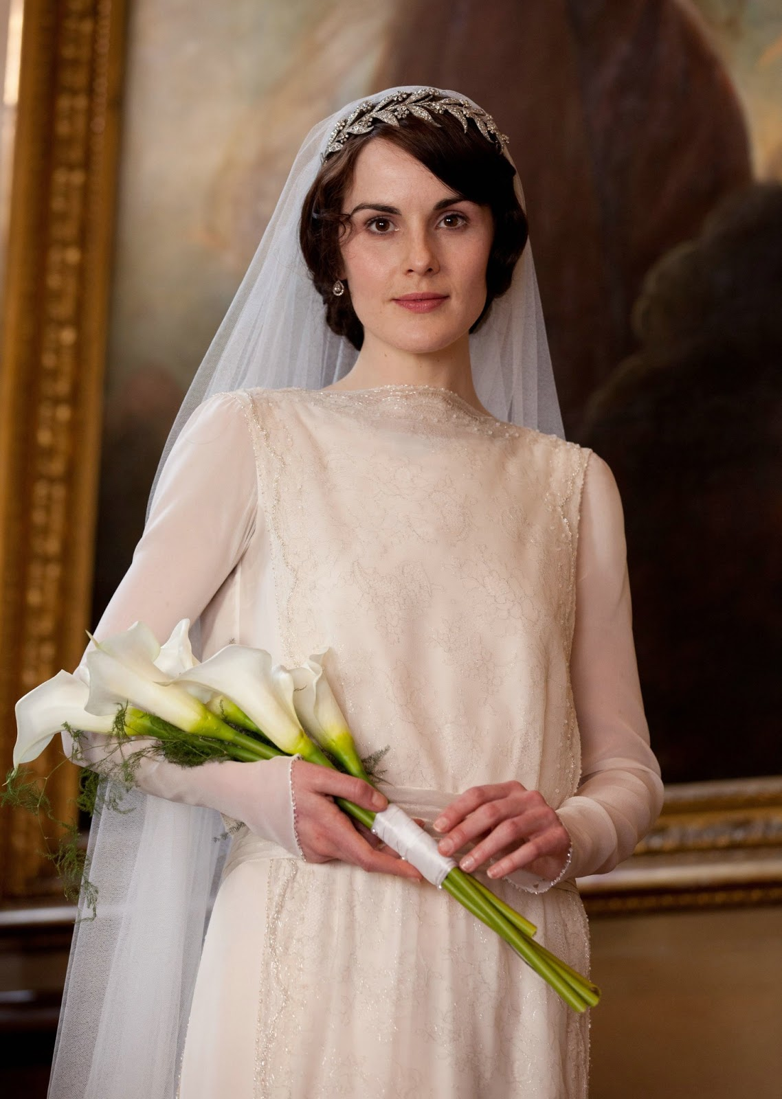 Downtown abby wedding on pinterest downton abbey jenny packham and