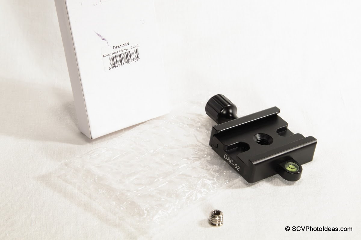 Desmond DAC-02 QR Clamp w/ box & bushing