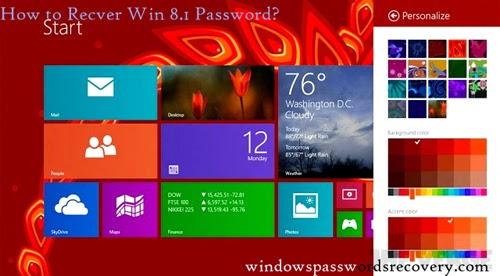 reset user password windows 8.1