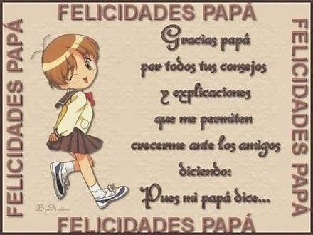 Bajar imagenes para el dia del padre, mensajes lindos para descargar en el dia del padre con lindas frases