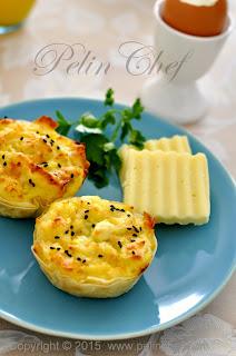 Patatesli Peynirli Muffin Böreği