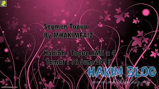Segmen Topup By Hakim Faiz