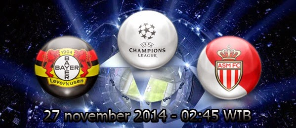 Bayer Leverkusen Vs AS Monaco