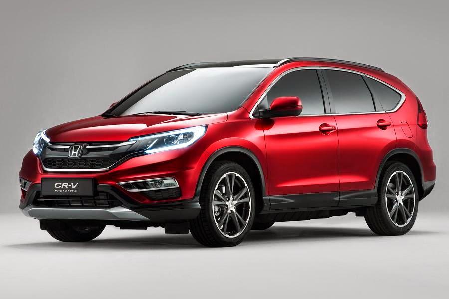 Honda CR-V Prototype (2015) Front Side