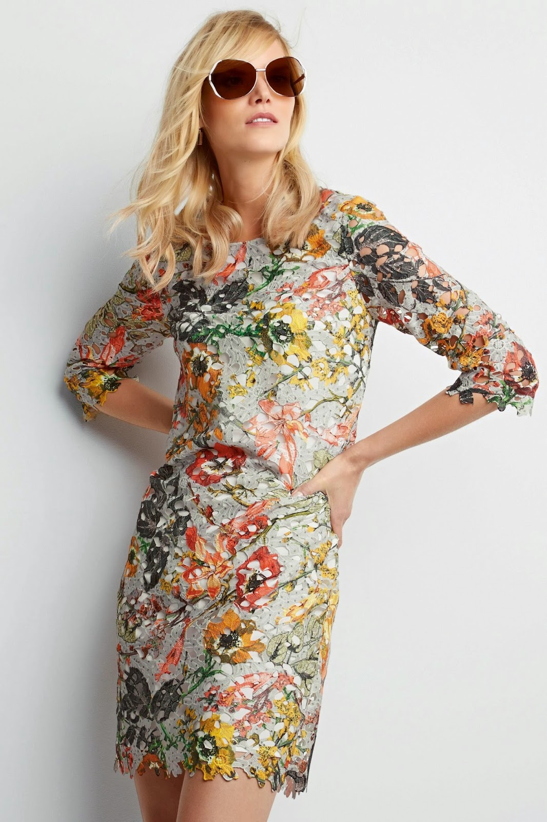 next lace flower dress, next colour lace dress,