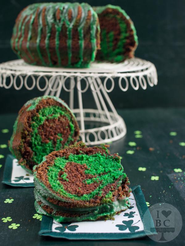 St. Patrick´s Day Bundt Cake