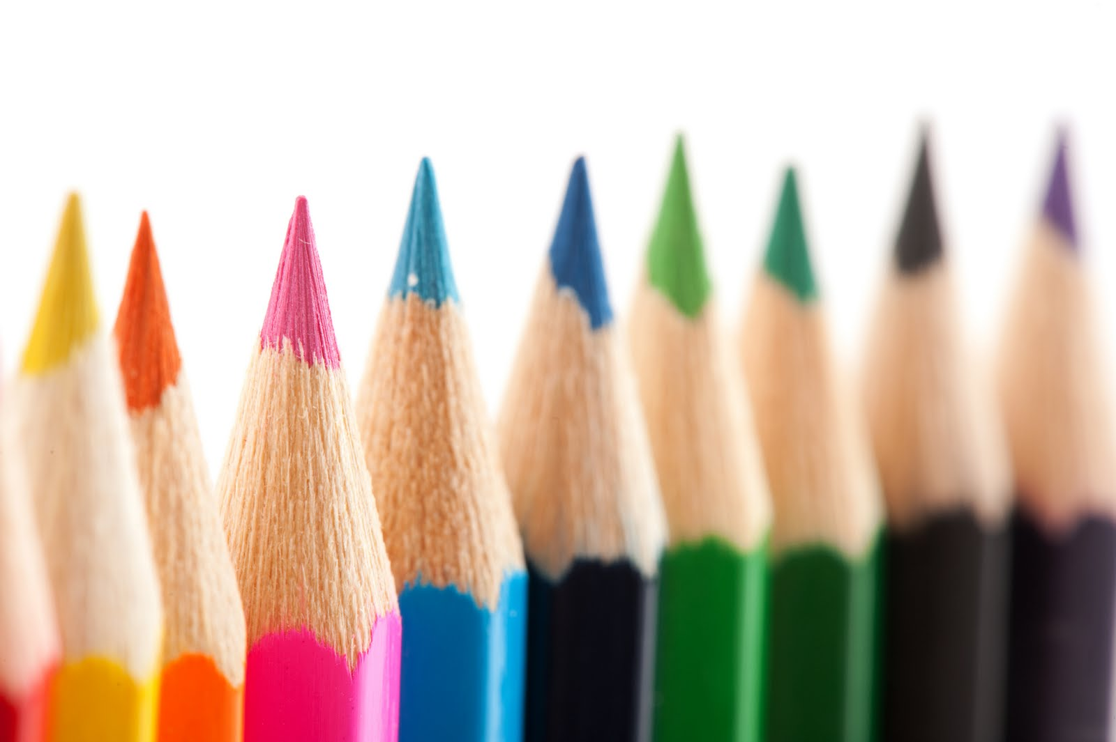 Colorful Pencils !! ~ Wallpapers