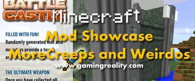 Minecraft Mod Morecreeps n Weirdos