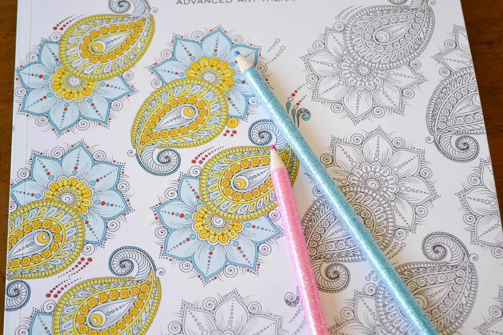Zen colouring in book - A Few Weeks Ago I Decided That I Would Try Out A Colouring Book For Relaxing After Seeing Lots In The Shops For Grown Ups Lately I Chose Zen Colouring