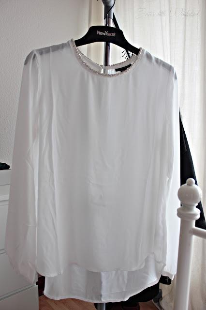 Fashion | Novemberausbeute, blog, shoppingausbeute, josie´s little wonderland, november, blouse, party, white, new yorker, amisu