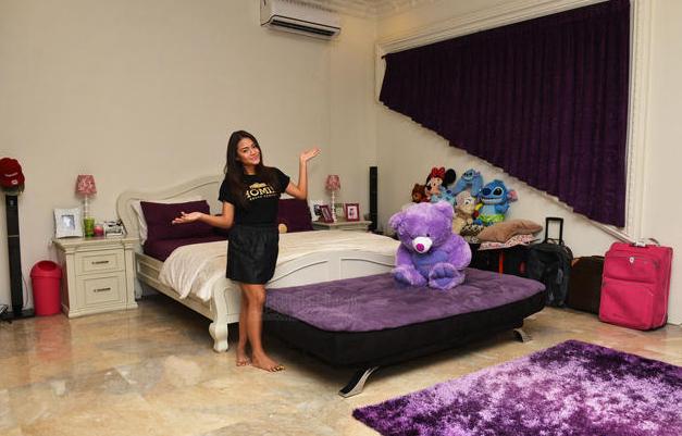Gambar Kamar Tidur Artis Aurel Anang Hermansyah Foto Interior Mewah Terbaru