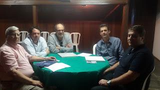 Secretário de Turismo se reúne com representantes da Federação Brasileira de Hospedagem e Alimentação