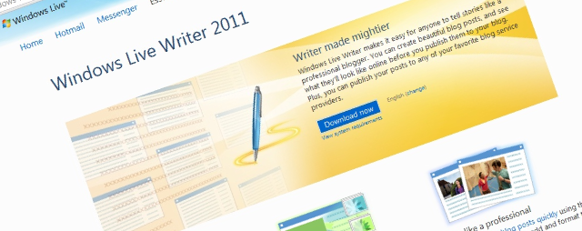 blogging with windows live writer