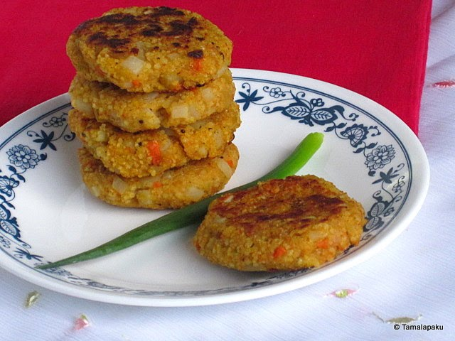 Couscous Vegetable Cutlet