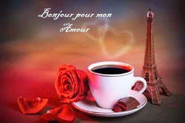SMS d'amour en français pour dire bonjour mon amour