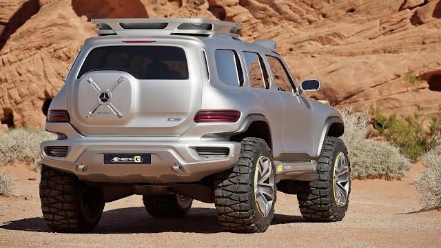 Mercedes-Benz Ener-G-Force back