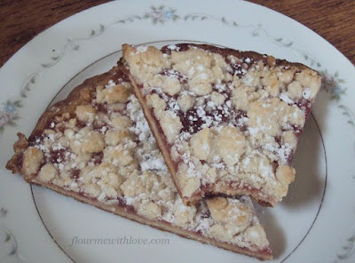 Fruit & Honey Shortbread Tart #FruitandHoney #WalMart; flourmewithlove.com