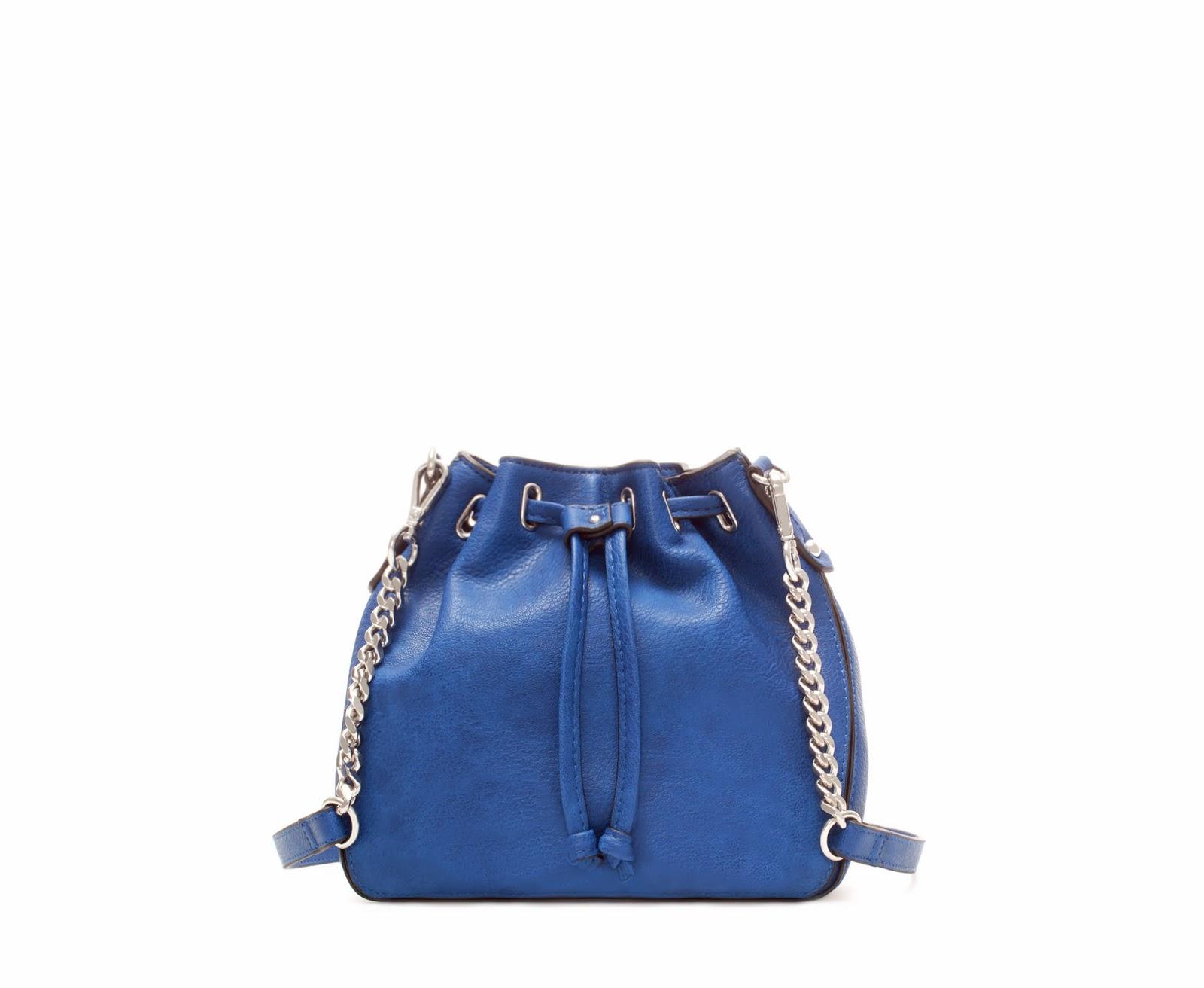sac seau bleu