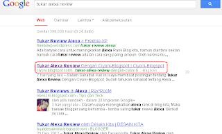 Rank Keyword Tukar Alexa Review