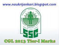 ssc cgl marks