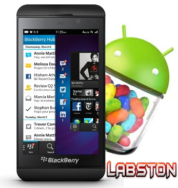 android app on blackberry