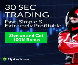 OPTECK TRADING - SIGN UP BONUS