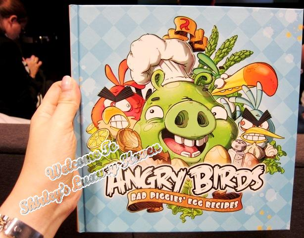 rovio angry birds merchandise cookbook