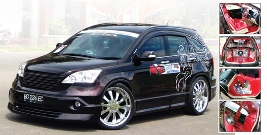 All New CRV '07 : Ladies Angel