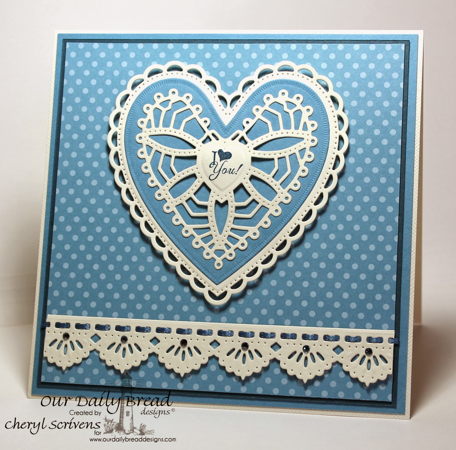 Our Daily Bread Designs, Be Mine, ODBD Custom Ornate Heart dies, ODBD Custom Beautiful Borders dies, CherylQuilts, Shining the Light Challenge, Designed by Cheryl Scrivens