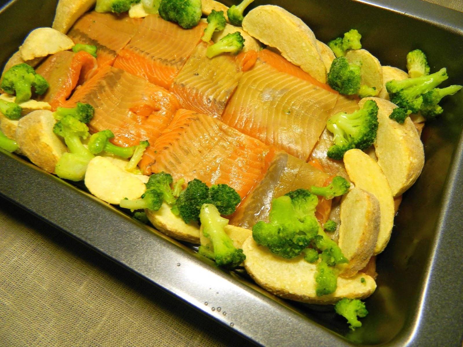рецепт рыбы в духовке с овощами простой рецепт