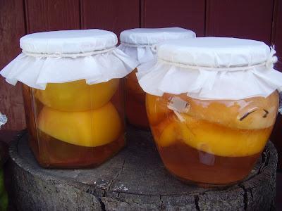 Compot de prune si nectarine