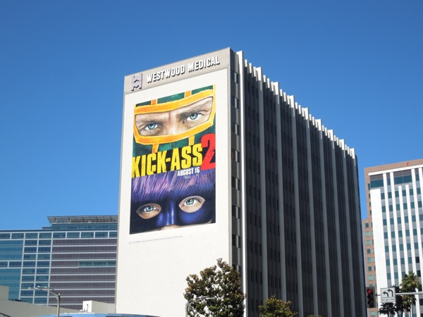 Giant Kick-Ass 2 movie billboard