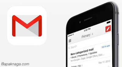 Cara Setting Gmail di iPhone dan ipad