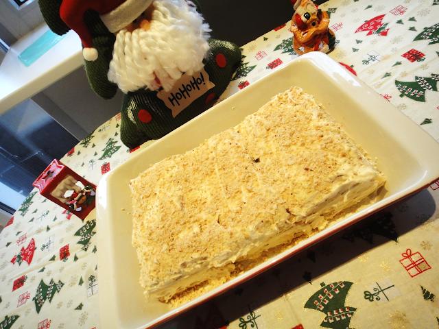 Клубничный Наполеон вкусный новогодний тортик десерт